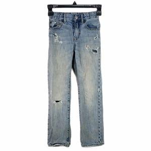 Gap Kids Distressed Slim Jeans 8